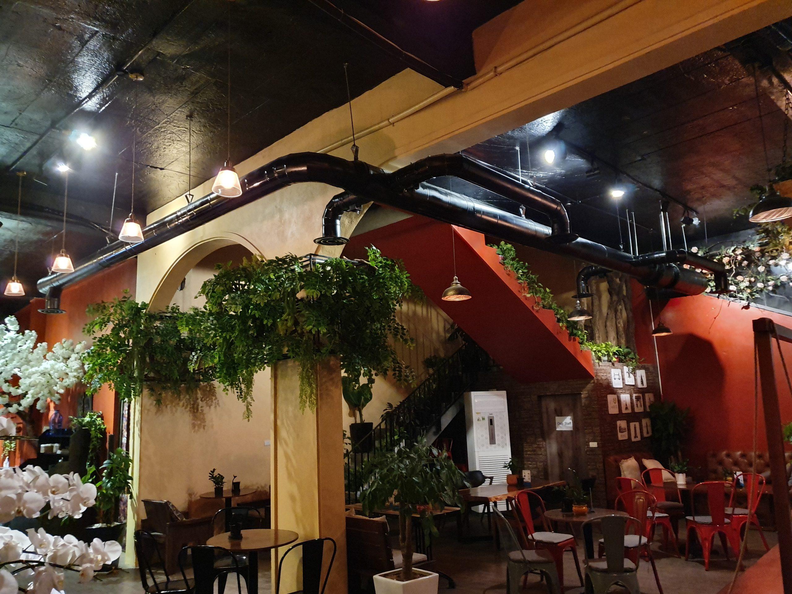 Cấp gió tươi cho nhà hàng