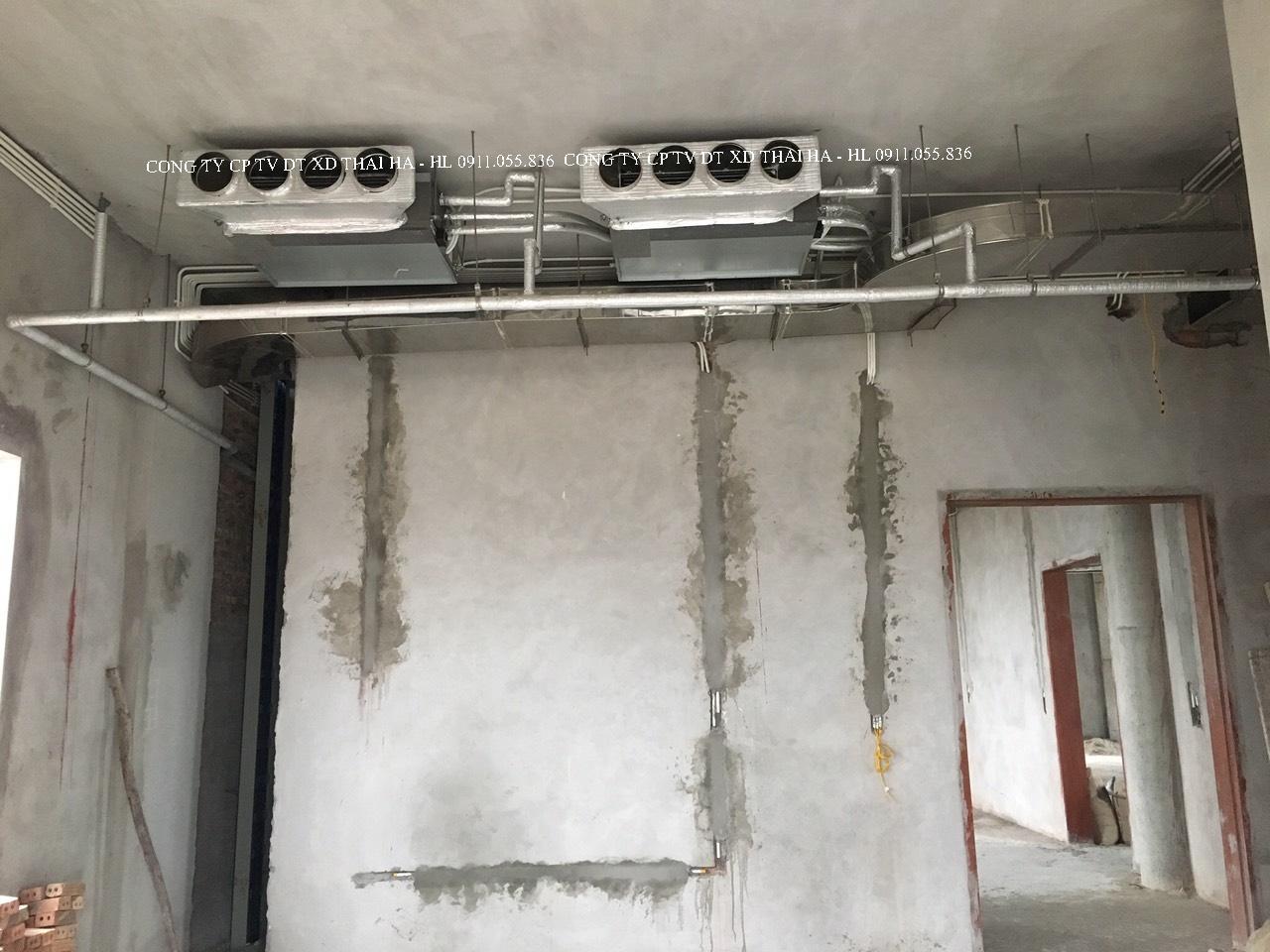 Dàn lạnh âm trần nối ống gió cho phòng ngủ