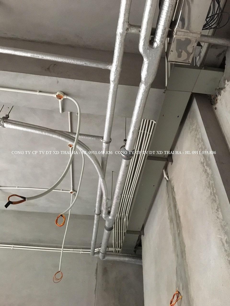 Hệ thống ống gas điều hòa