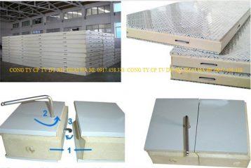 cấu tạo vỏ tủ kho lạnh