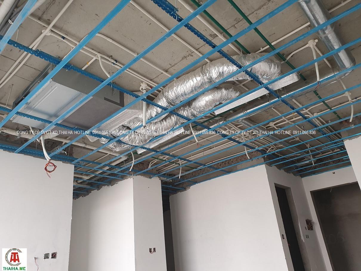 Dàn lạnh VRVS âm trần nối ống gió phòng khách