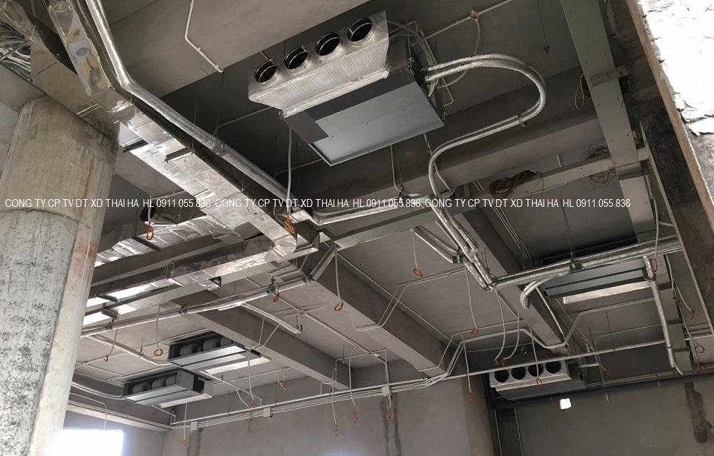 Dàn lạnh âm trần nối ống gió csl 9Kw
