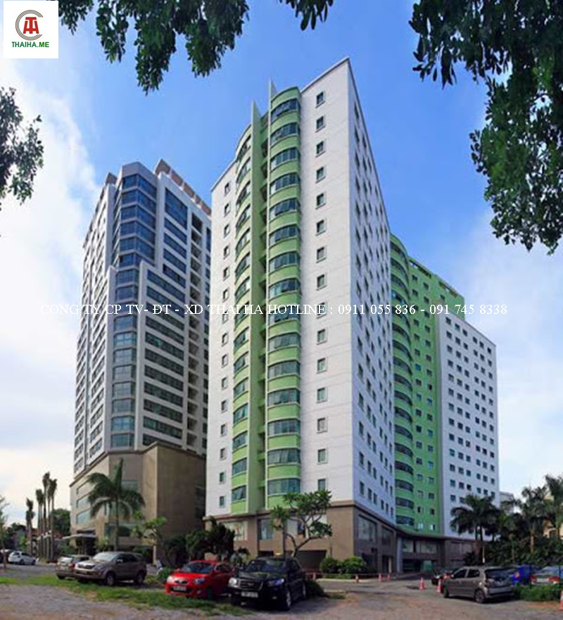 Hình ảnh tổng quan tòa nhà