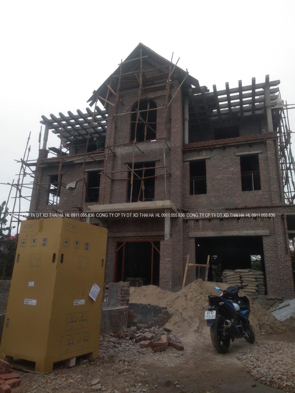 Điều hòa trung tâm cho biệt thự Quế võ, Bắc Ninh
