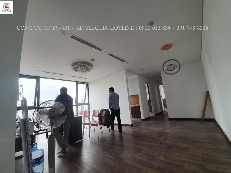 Điều hòa trung tâm VRVS cho căn hộ