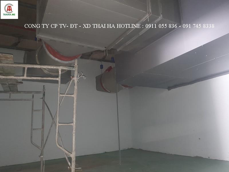 Hệ thống hút khói tầng hầm