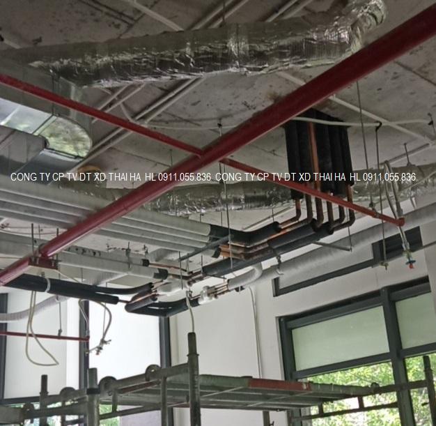 Thi công lắp đặt ống gas điều hòa