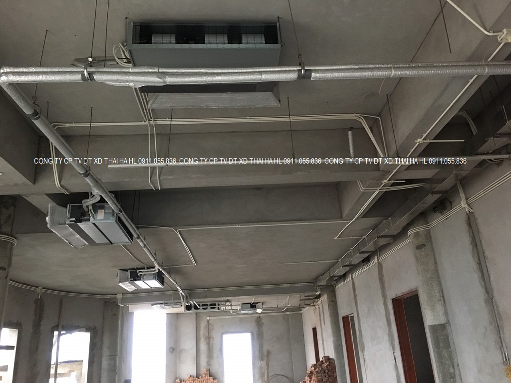 Dàn lạnh trung tâm âm trần nối ống gió