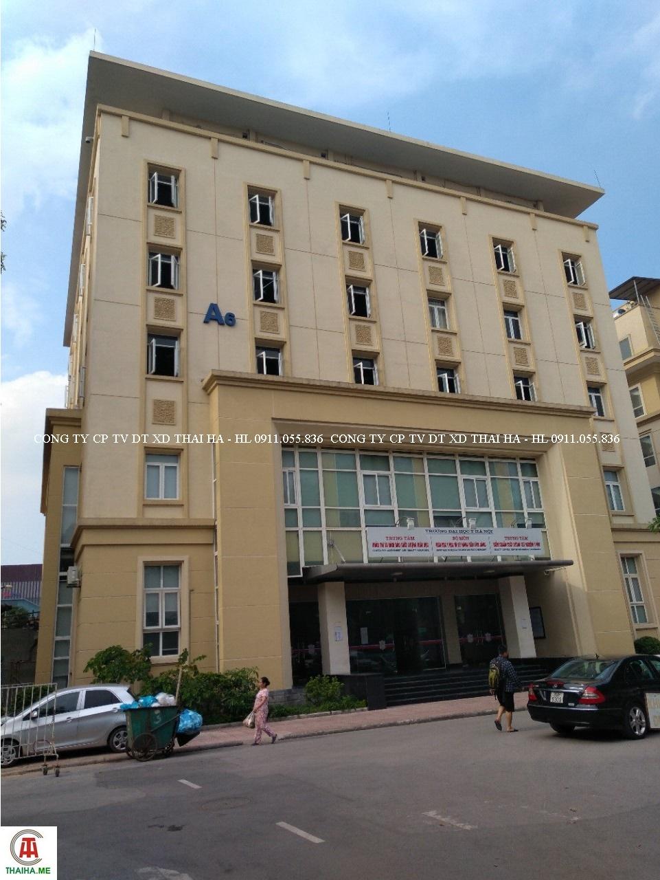 Nhà A6 Đại học Y Hà Nội